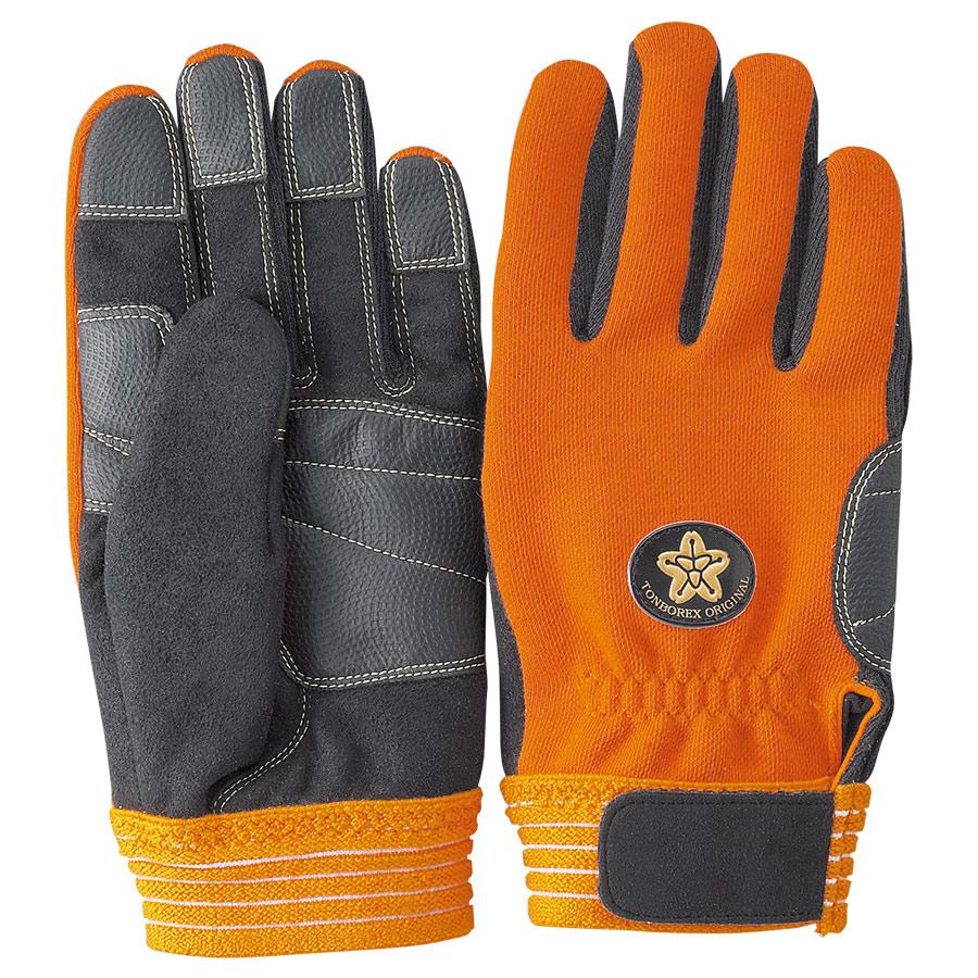 トンボレックス ケブラー(R)繊維製消防団員用耐切創手袋 K−522RD LL