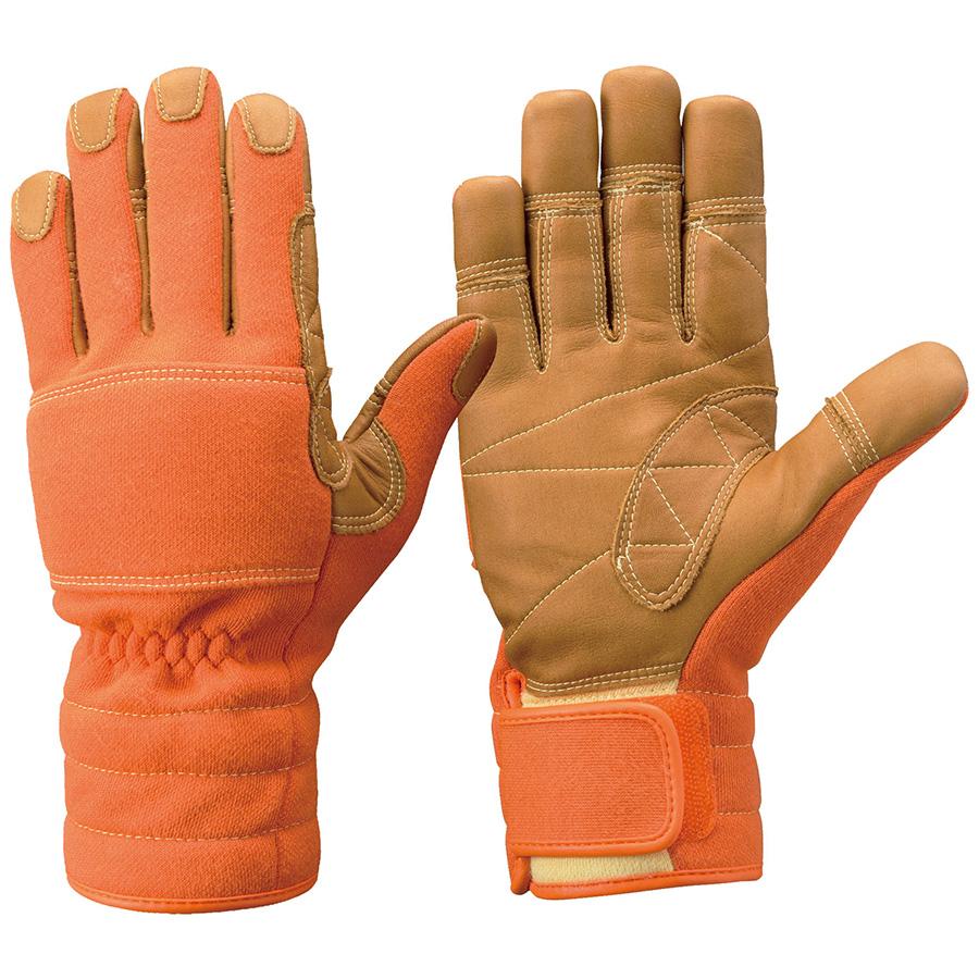 トンボレックス ケブラー(R)繊維製 防火手袋 K−TFG5R オレンジ S