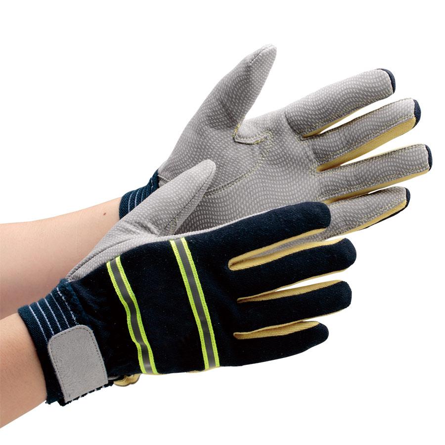 ケブラー(R) 防火手袋 MTK−500NV Sサイズ