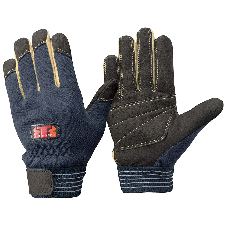 トンボレックス ケブラー(R)繊維製耐切創手袋 防寒・防水 K−701NV S