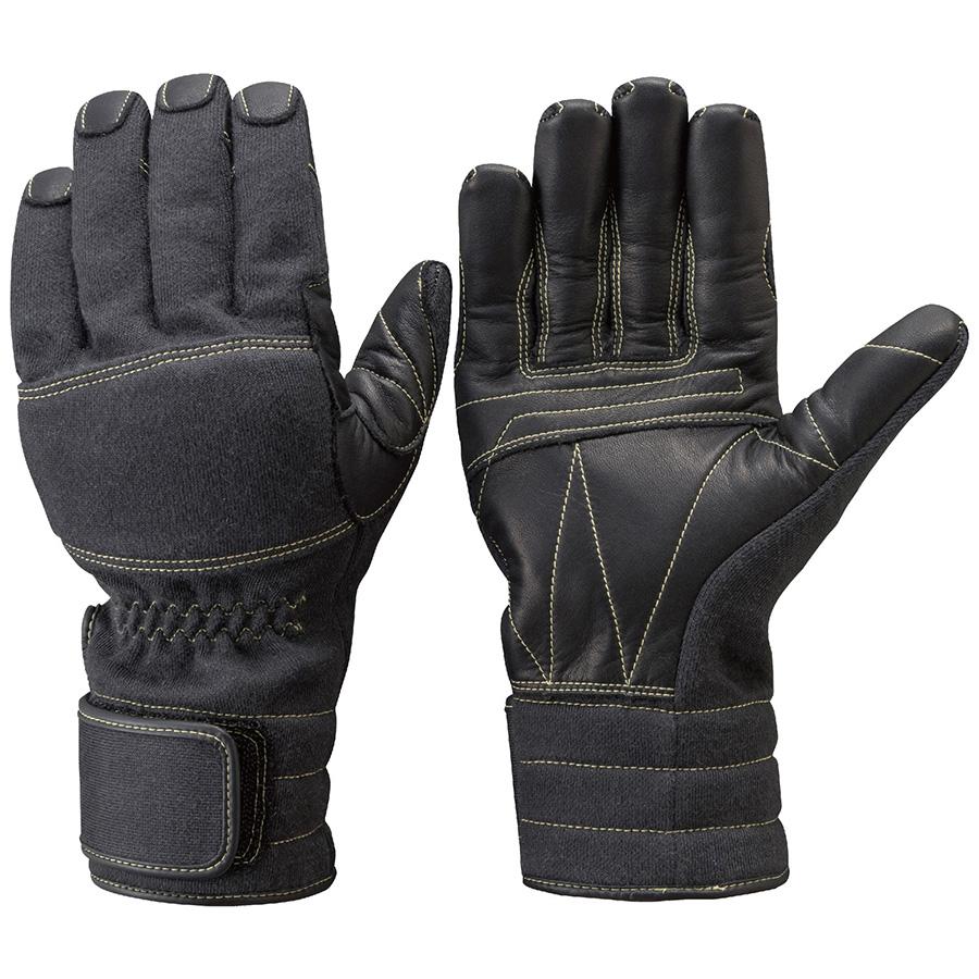 トンボレックス ケブラー(R)繊維製手袋 K−A181BK ブラック SS