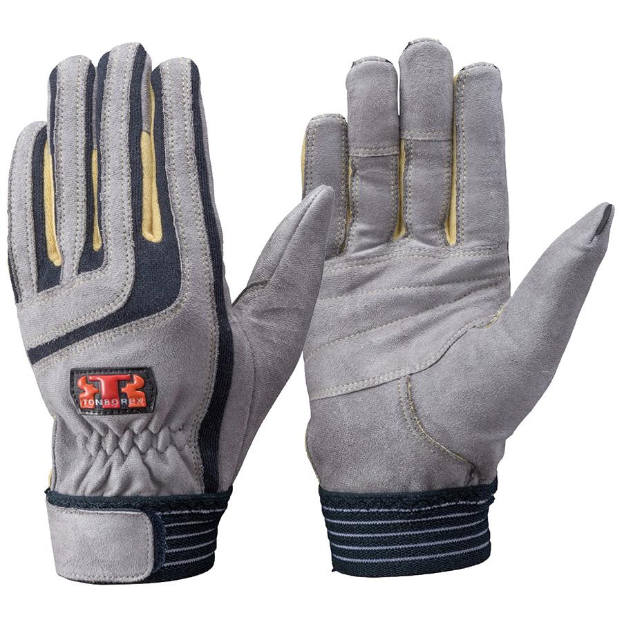 トンボレックス ケブラー(R)繊維製耐切創手袋 K−5017NV ネービー M