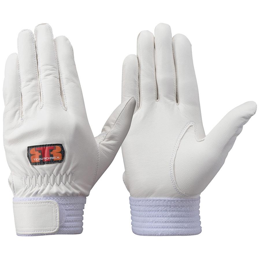 トンボレックス 羊革手袋 RS−940W 薄手・当てなしタイプ ホワイト LL