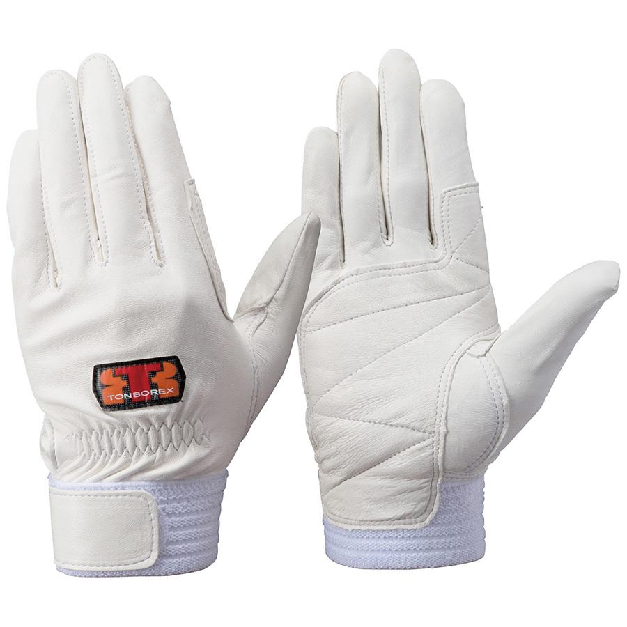 トンボレックス 羊革手袋 RS−941W 薄手タイプ ホワイト M