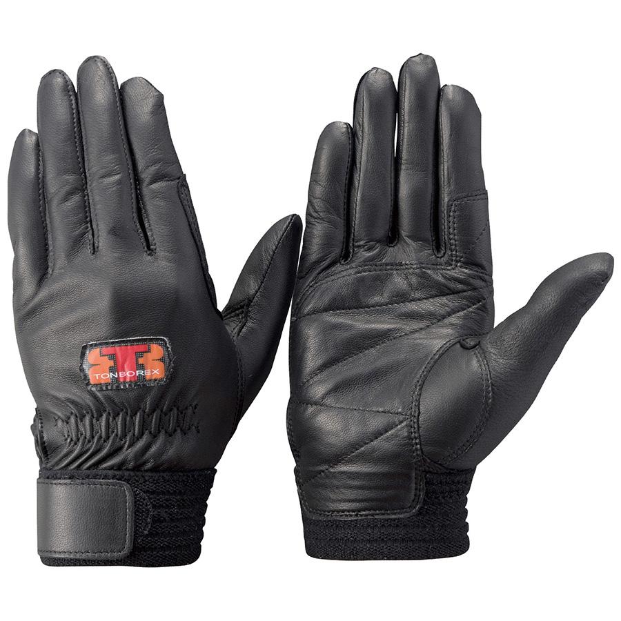 トンボレックス 羊革手袋 RS−941BK 薄手タイプ ブラック M