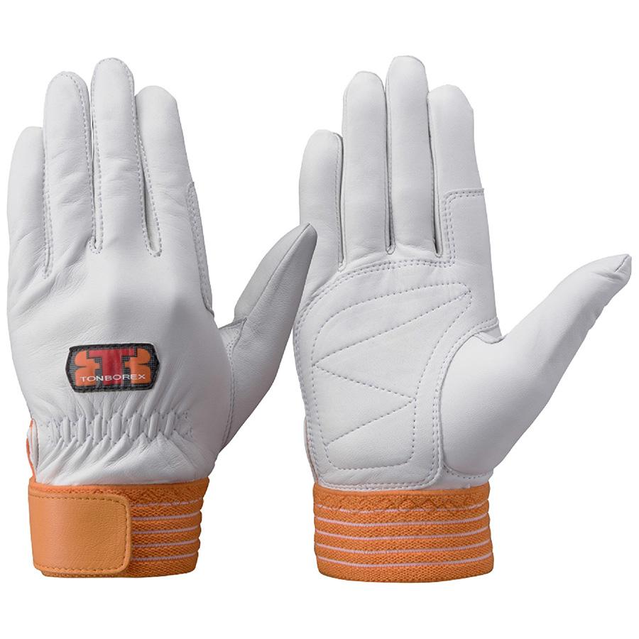 トンボレックス 羊革手袋 R−330R 中厚タイプ ホワイト L