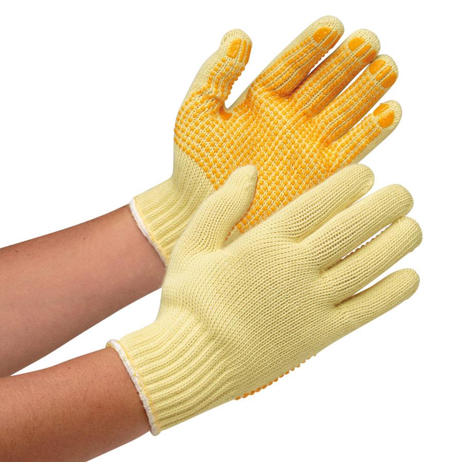耐切創性手袋 ケブラー(R) MK−100V(すべり止付) フリー