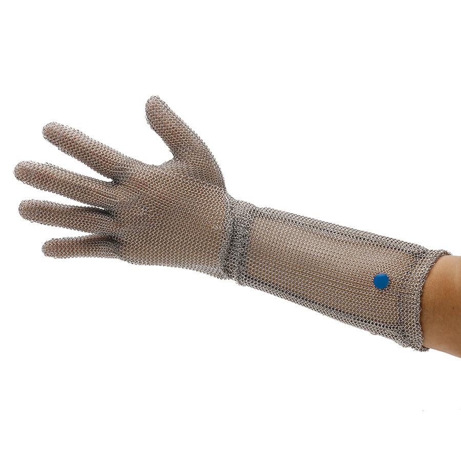耐切創手袋 WILCO−550 (クサリ手袋5本指) 袖長  L