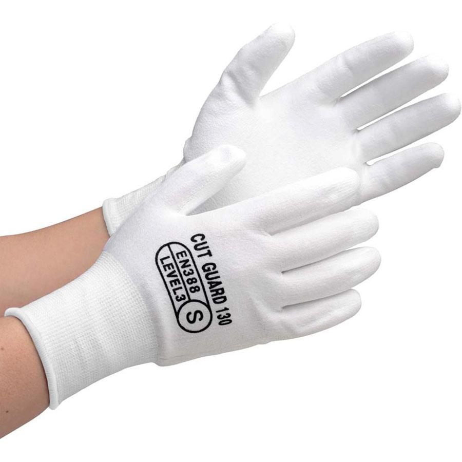 耐切創性手袋 カットガード130 Sサイズ 10双
