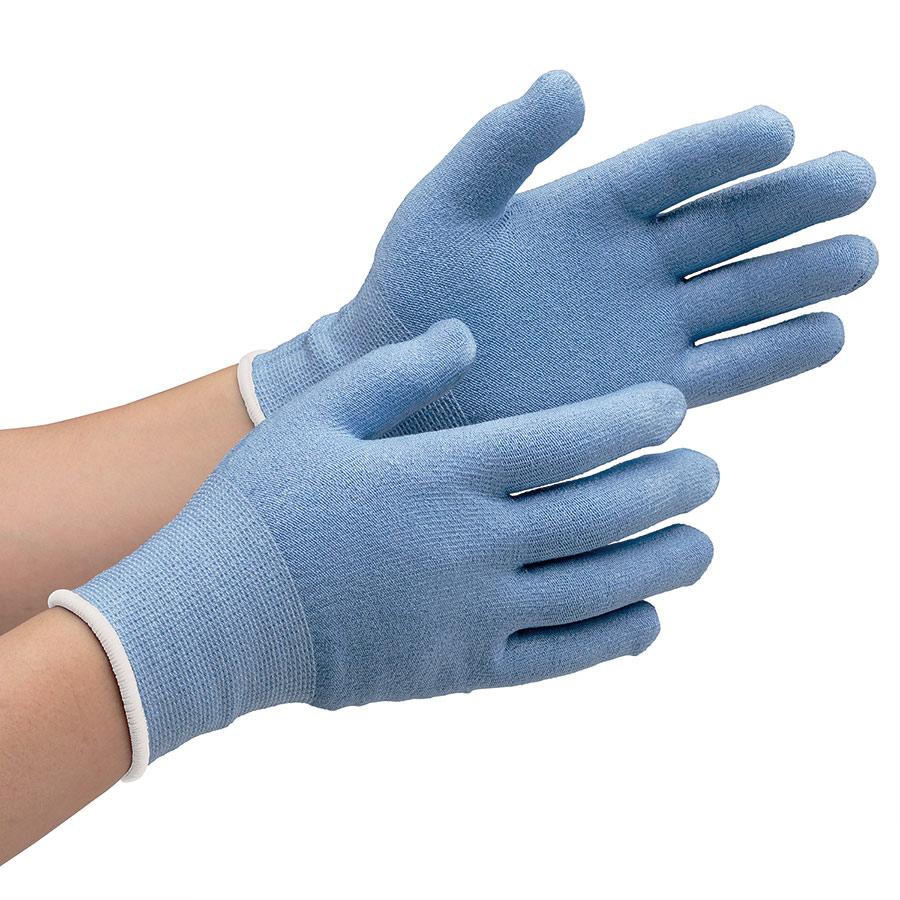 耐切創性手袋 カットガード132 S ブルー