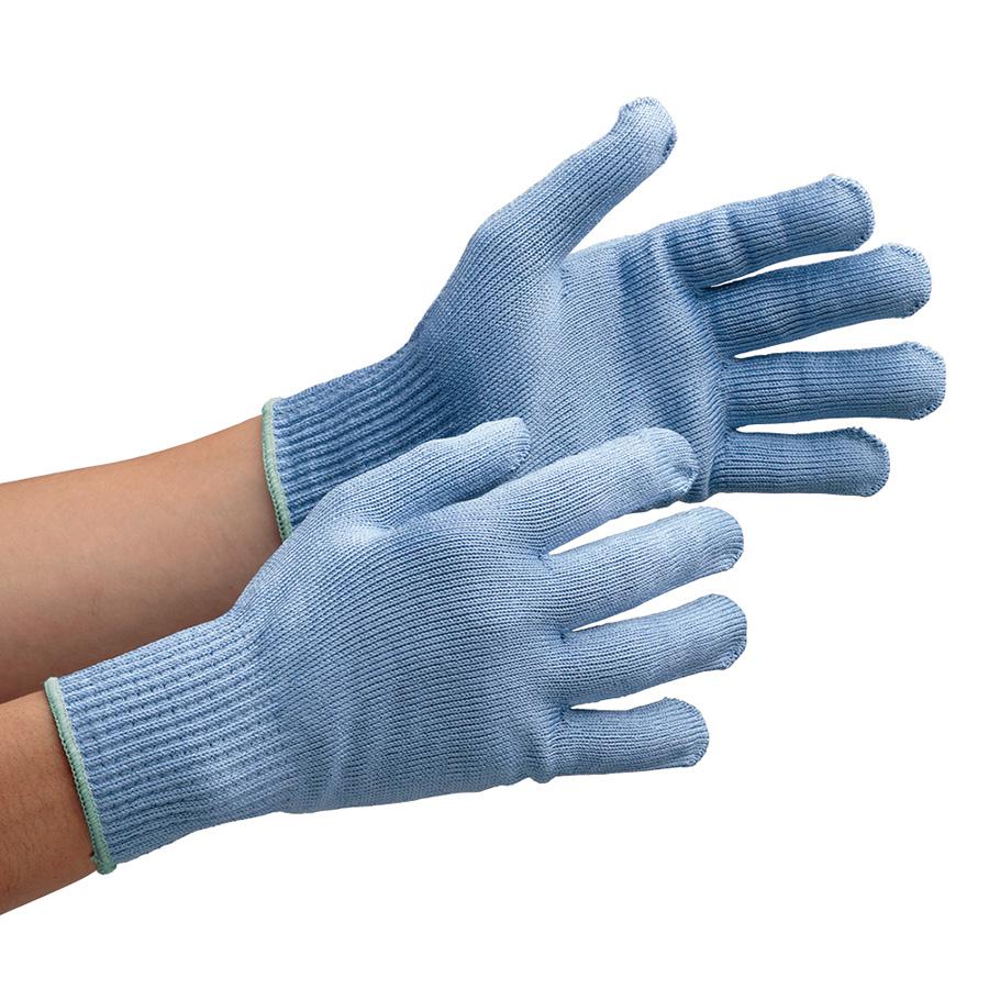 耐切創性手袋 カットガードW102 ブルー Mサイズ