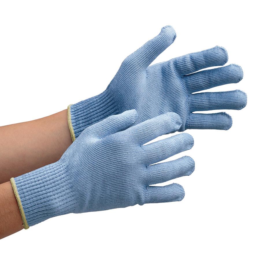 耐切創性手袋 カットガード W102 ブルー LLサイズ