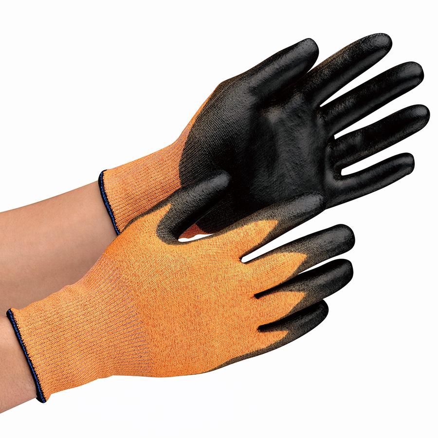 タッチパネル対応 耐切創性手袋 カットガードC130 LLサイズ