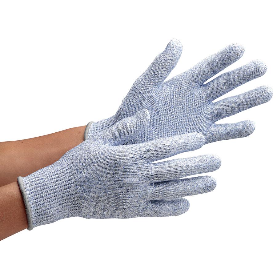 耐切創性手袋 カットガードF102NF ブルー L