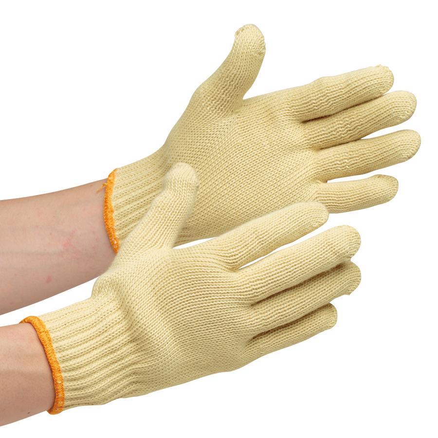 耐切創性手袋 イエローガード072 大サイズ 10双/袋(販売単位:10袋)