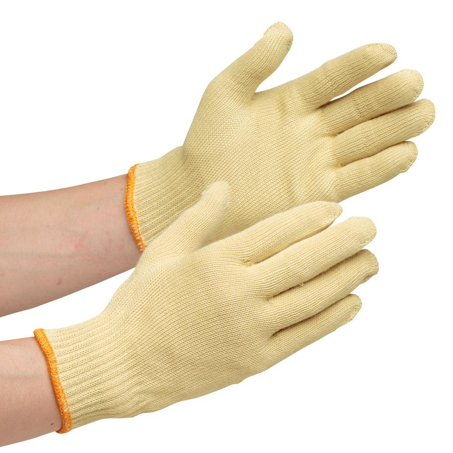 耐切創性手袋 イエローガード 102 小サイズ 10双/袋(販売単位:10袋)
