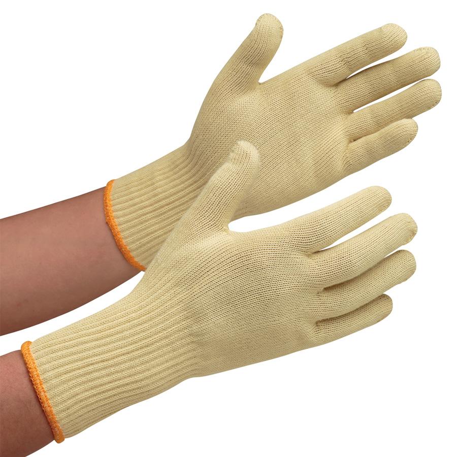 耐切創性手袋 イエローガード102袖長 10双/袋(販売単位:10袋)