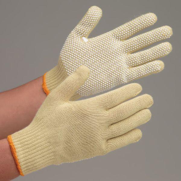 耐切創性手袋 イエローガード102V すべり止め付き 10双/袋
