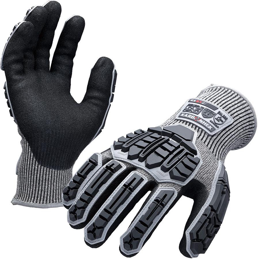 KARBONHEX 耐切創性手袋 KX−91J L