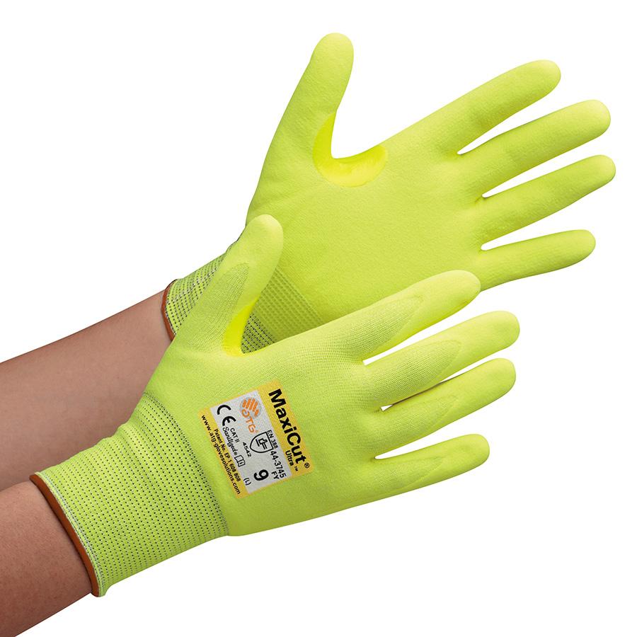 ATG 耐切創性作業手袋 MaxiCut Ultra 44−3745FY S