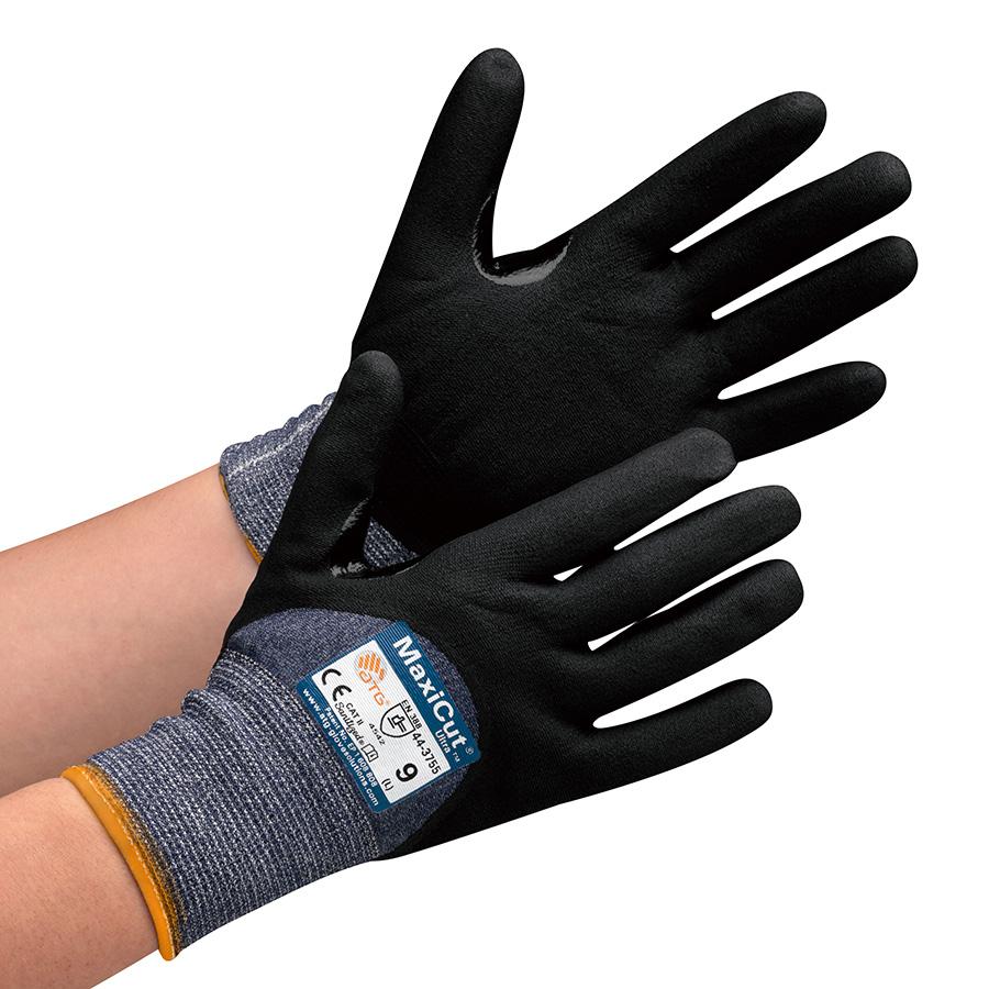ATG 耐切創性作業手袋 MaxiCut Ultra 44−3755 M