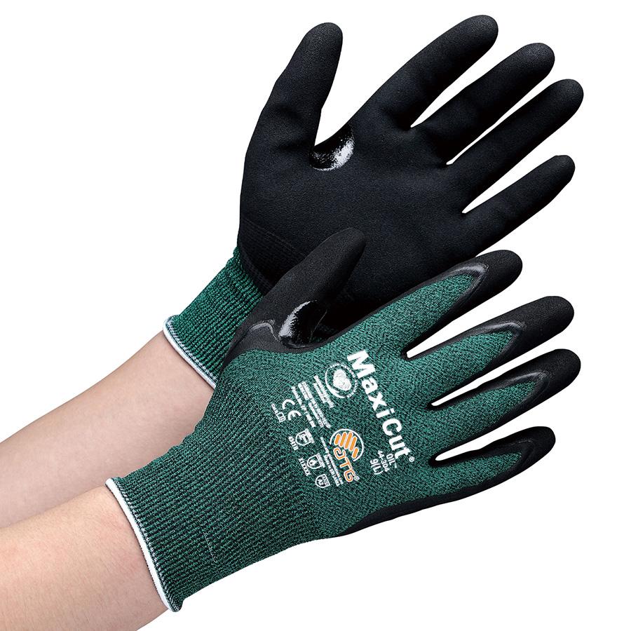 ATG 耐水・耐油 耐切創性手袋 MaxiCut Oil 44−304 L