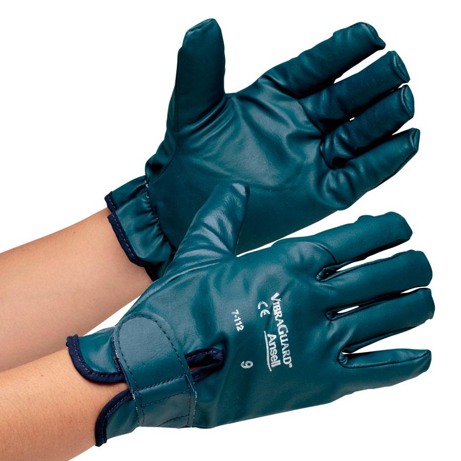 防しん手袋 ビブラガード フルフィンガー 7−112 LL 3双入り