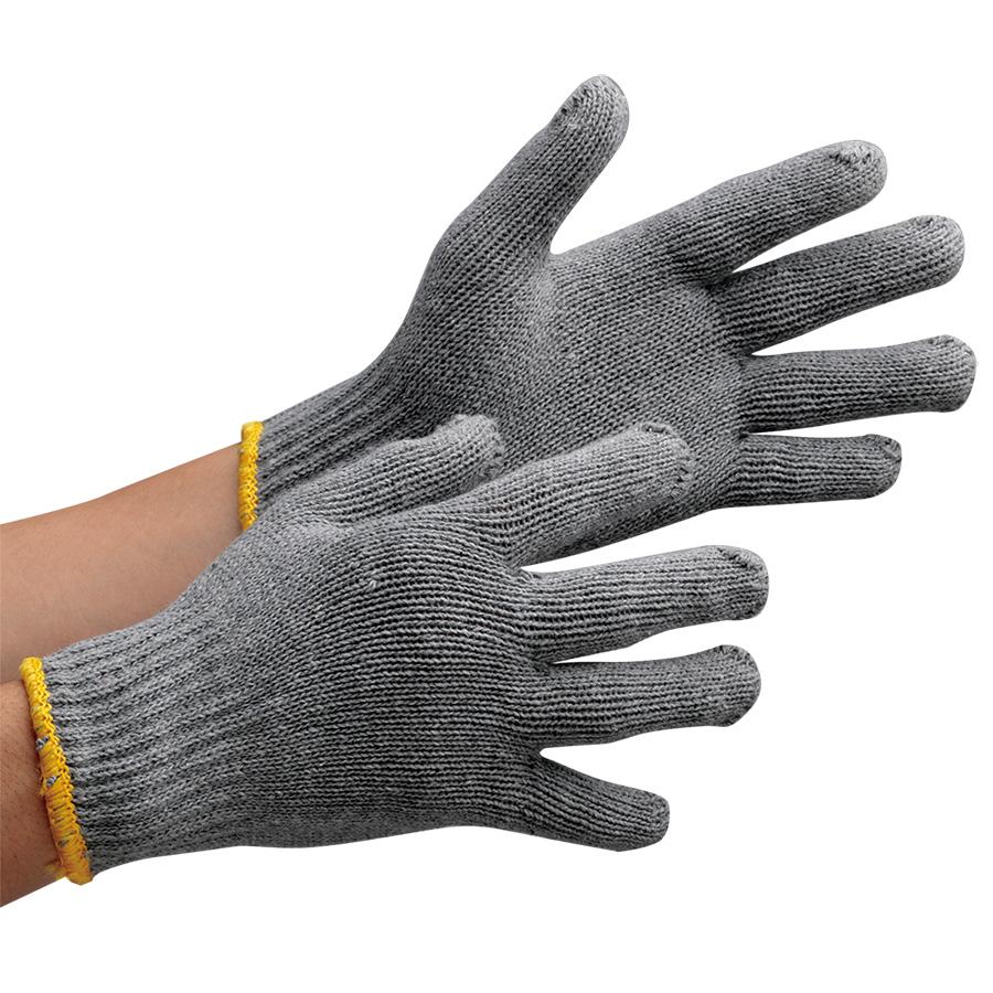 作業手袋 グレー軍手 (販売単位:60打)