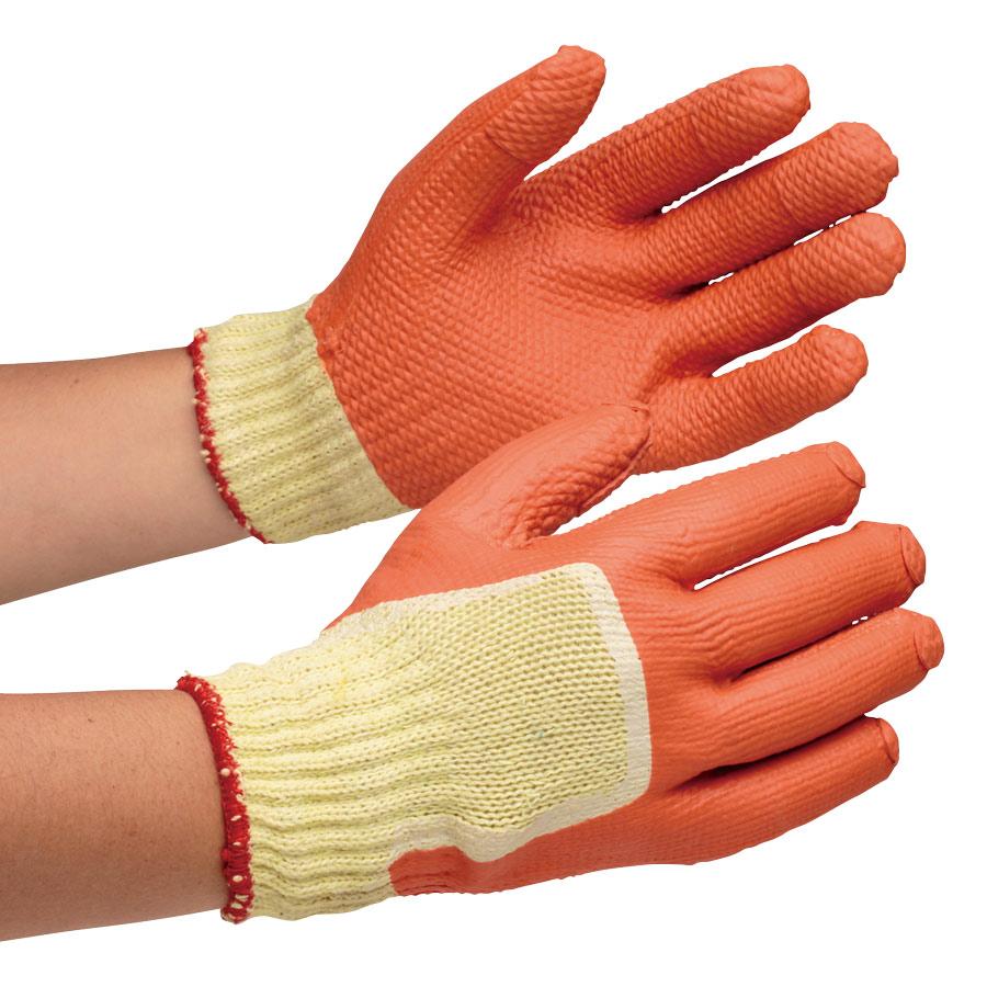 作業手袋 ハイグリップ ゴム張りハード MHG−310 L 5双入