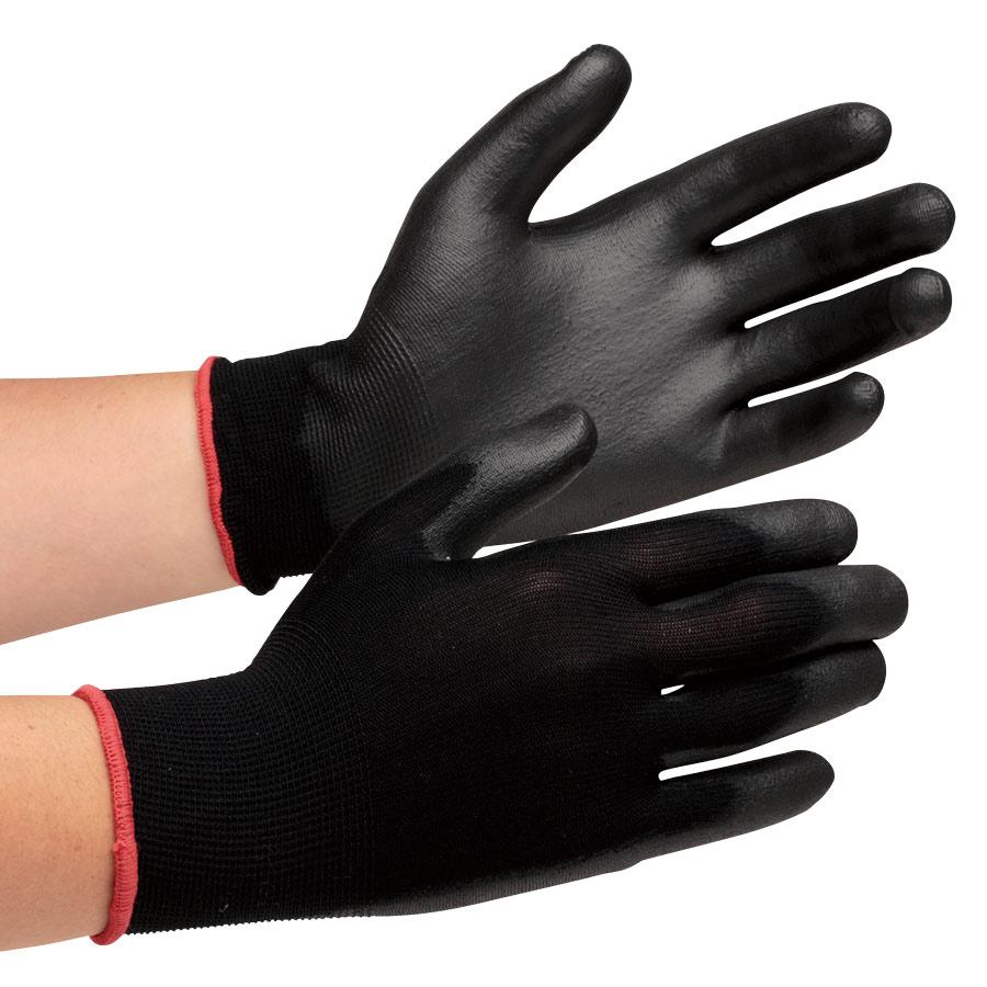 作業手袋 ハイグリップ ウレタン背抜き手袋 MHG−200 L 10双入