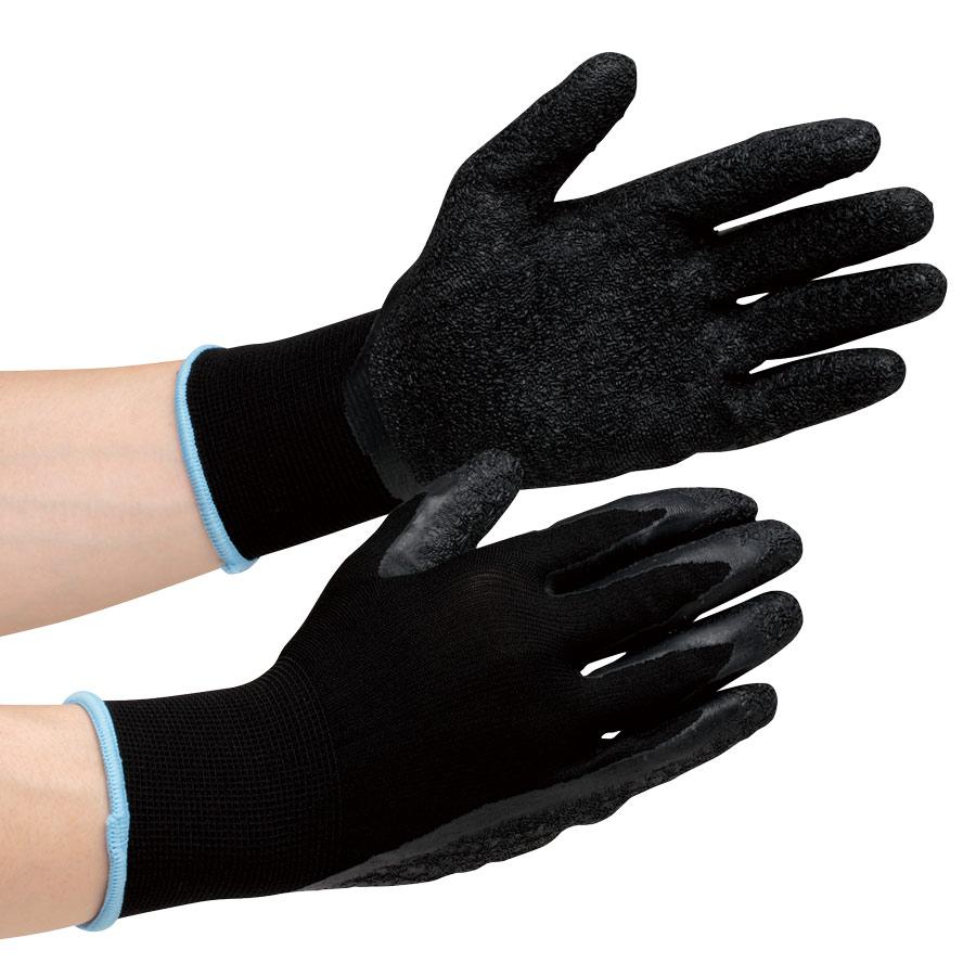 作業手袋 ハイグリップ ゴム引き手袋 MHG−100 S 10双