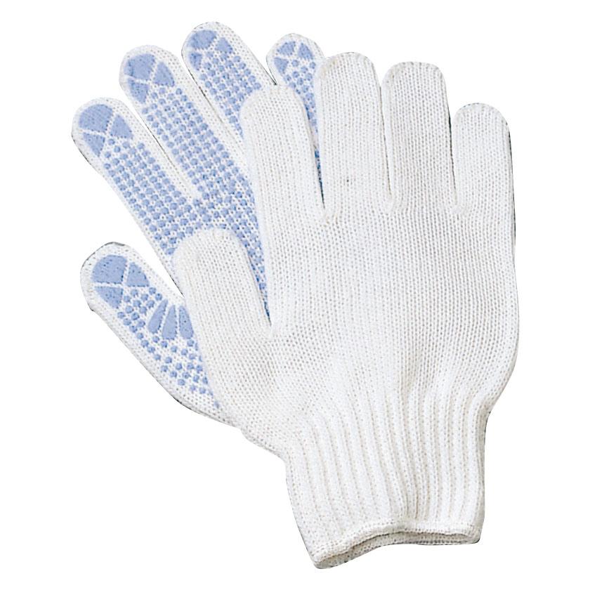 すべり止め加工手袋 シリコンボツ NO.4050 L 12双入