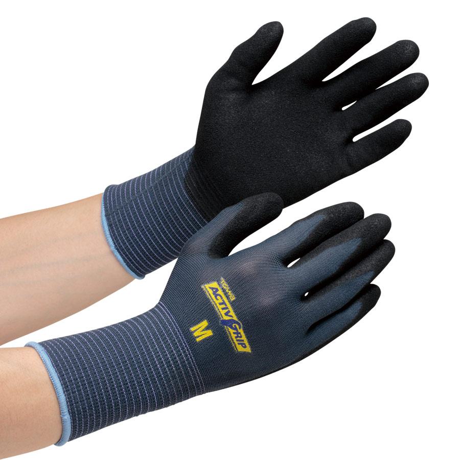 作業手袋 NO.581 アクティブグリップ LL 10双入