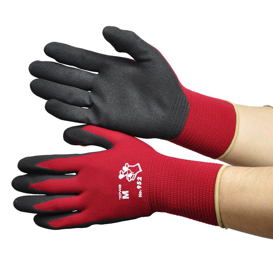 指先が出せる便利な手袋 #952 M (販売単位:10双)