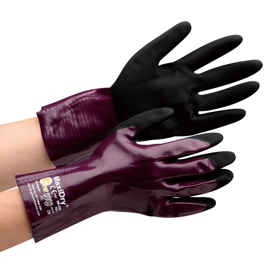 ATG 耐油作業手袋 MaxiDry 56−426 L