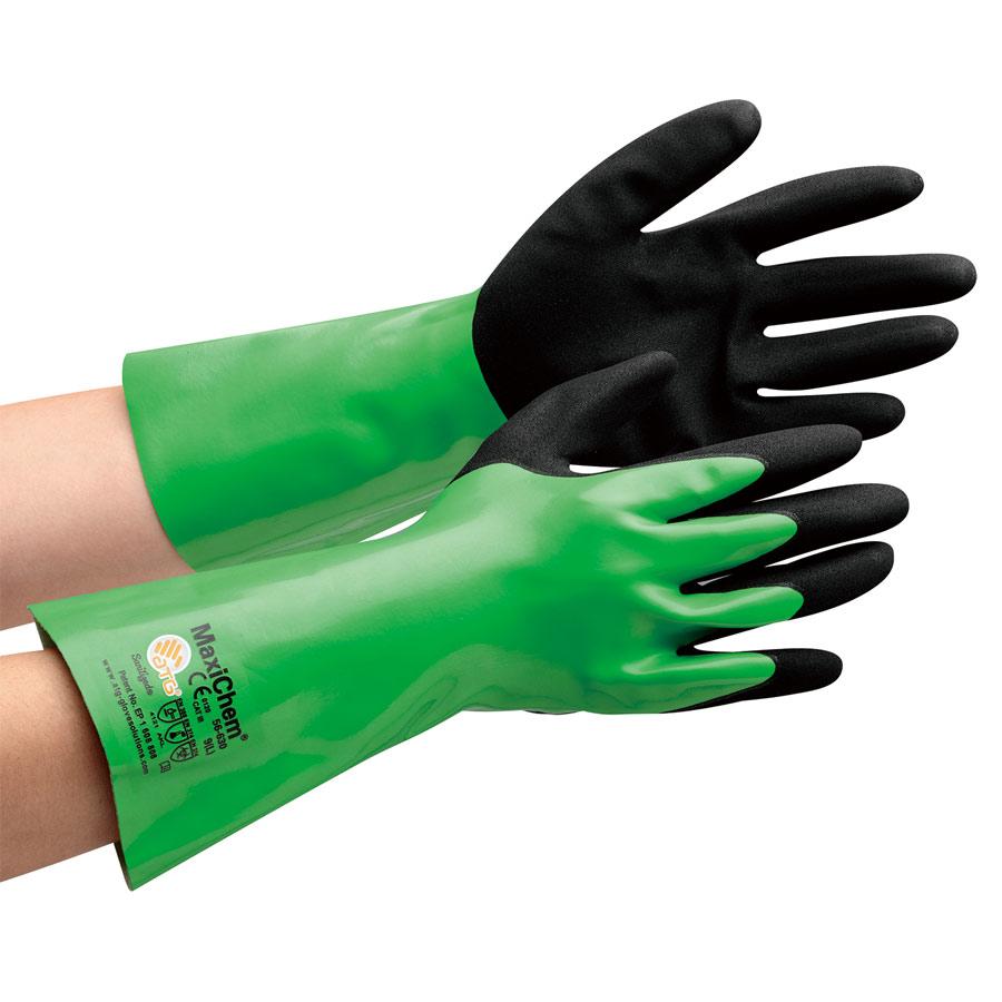 ATG 耐薬品作業手袋 MaxiChem 56−630 L