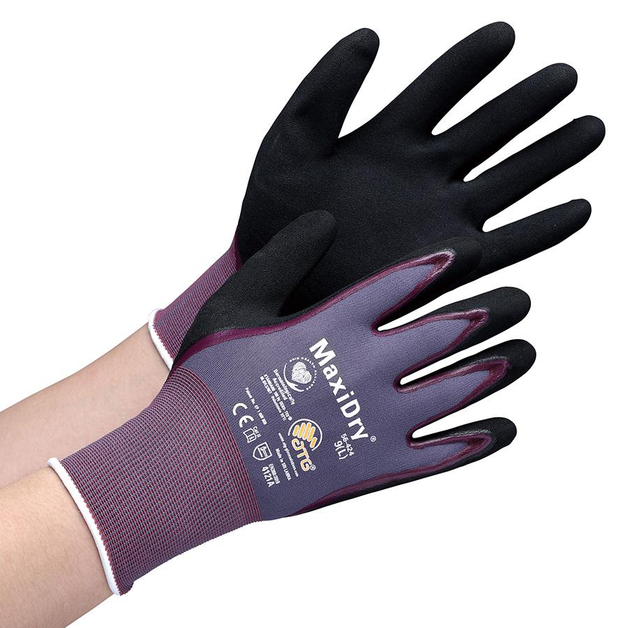 ATG 耐水・耐油作業手袋 MaxiDry 56−424 L