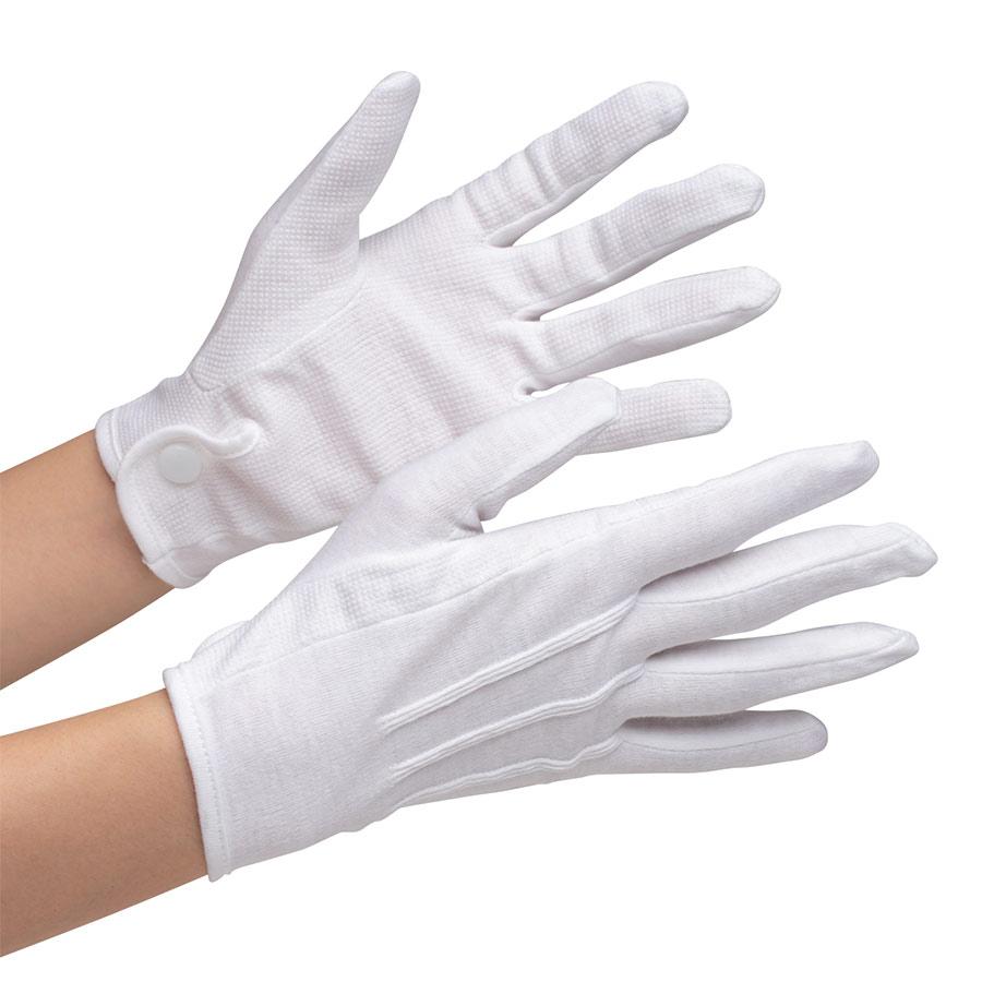 品質管理用手袋 NO.5001−K すべり止付 L 12双