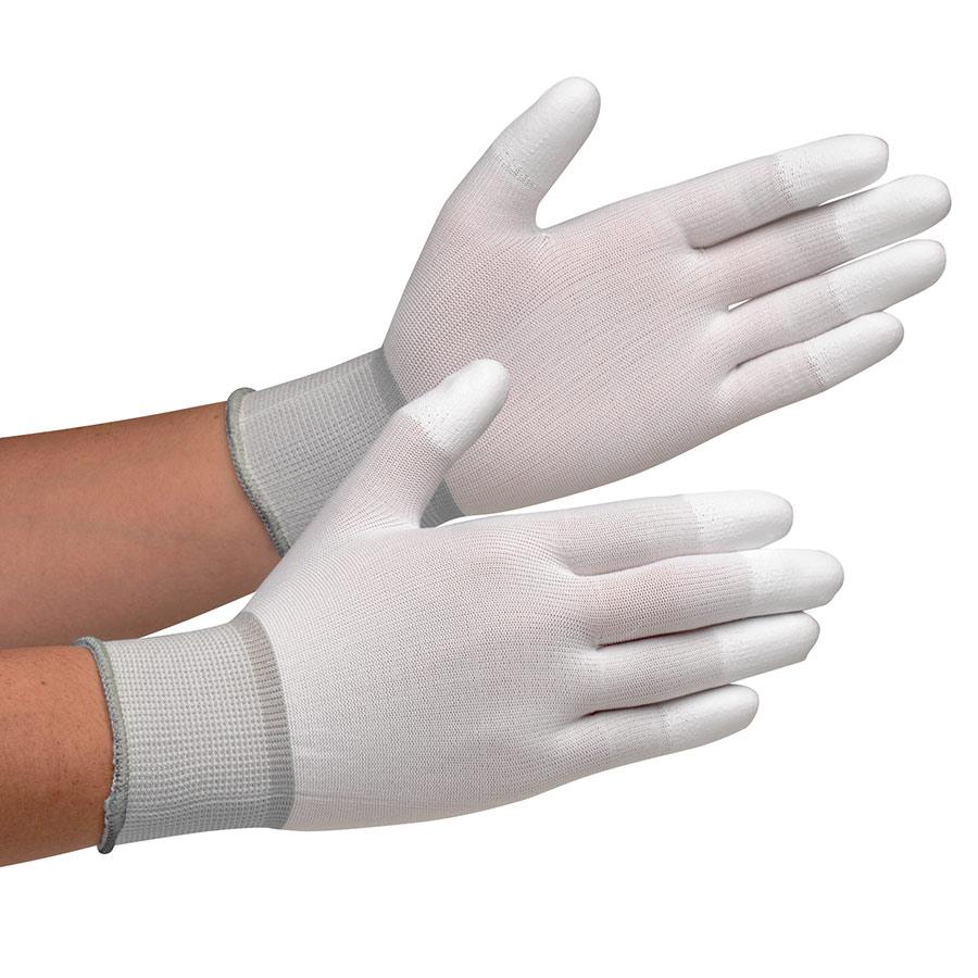 作業手袋 MCG−701N (指先コーティング) L 10双