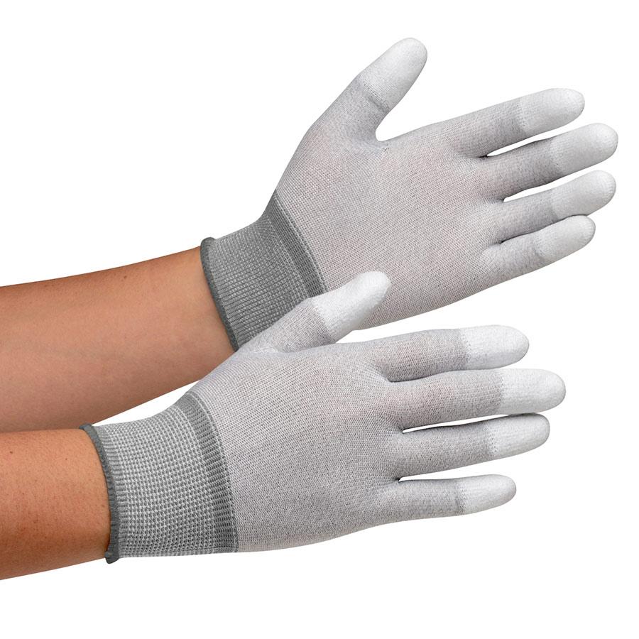 作業手袋 MCG−601N (指先コーティング) L 10双/袋