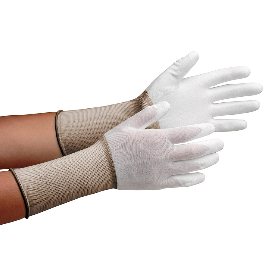 作業手袋 MCG−500Nロング (手のひらコーティング) SS 10双/袋