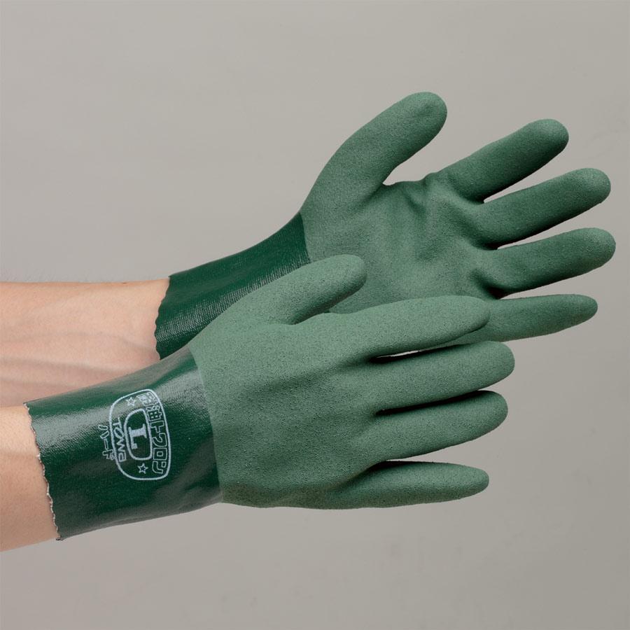 ニトリルゴム製手袋 NO.565 耐油トワロンハード L 10双