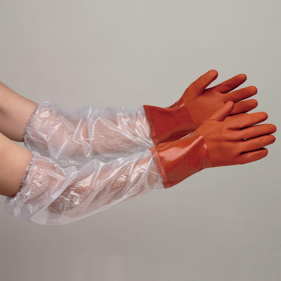 塩化ビニール製手袋 NO.652 アームソフト M 10双