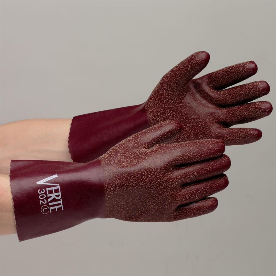 天然ゴム製手袋 ベルテ−302 L 10双入