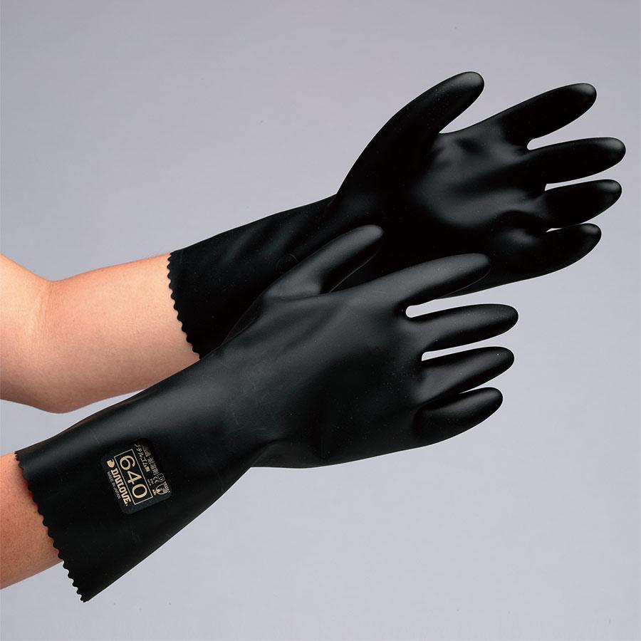 耐透過性・耐溶剤性手袋 ダイローブ(R)640 L