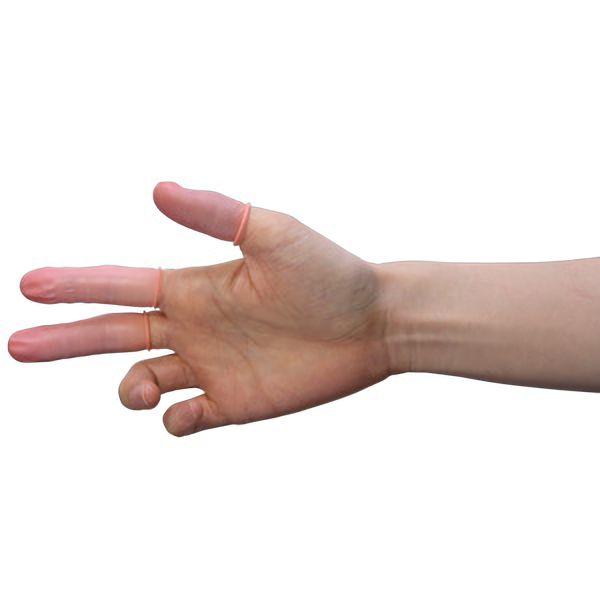ピンク 指サック AS−3N−M18 1000個/袋