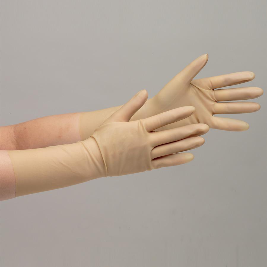 天然ゴム製手袋 NO.15 8.5インチ 25双入