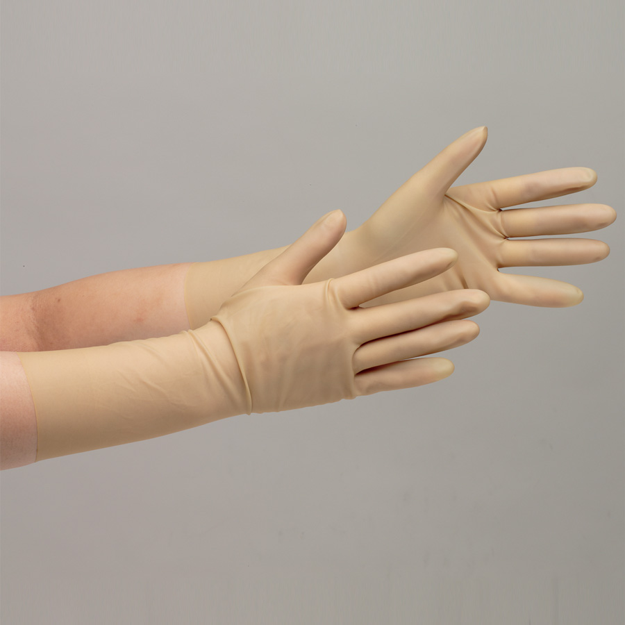 天然ゴム製手袋 NO.15 6.0インチ 25双入