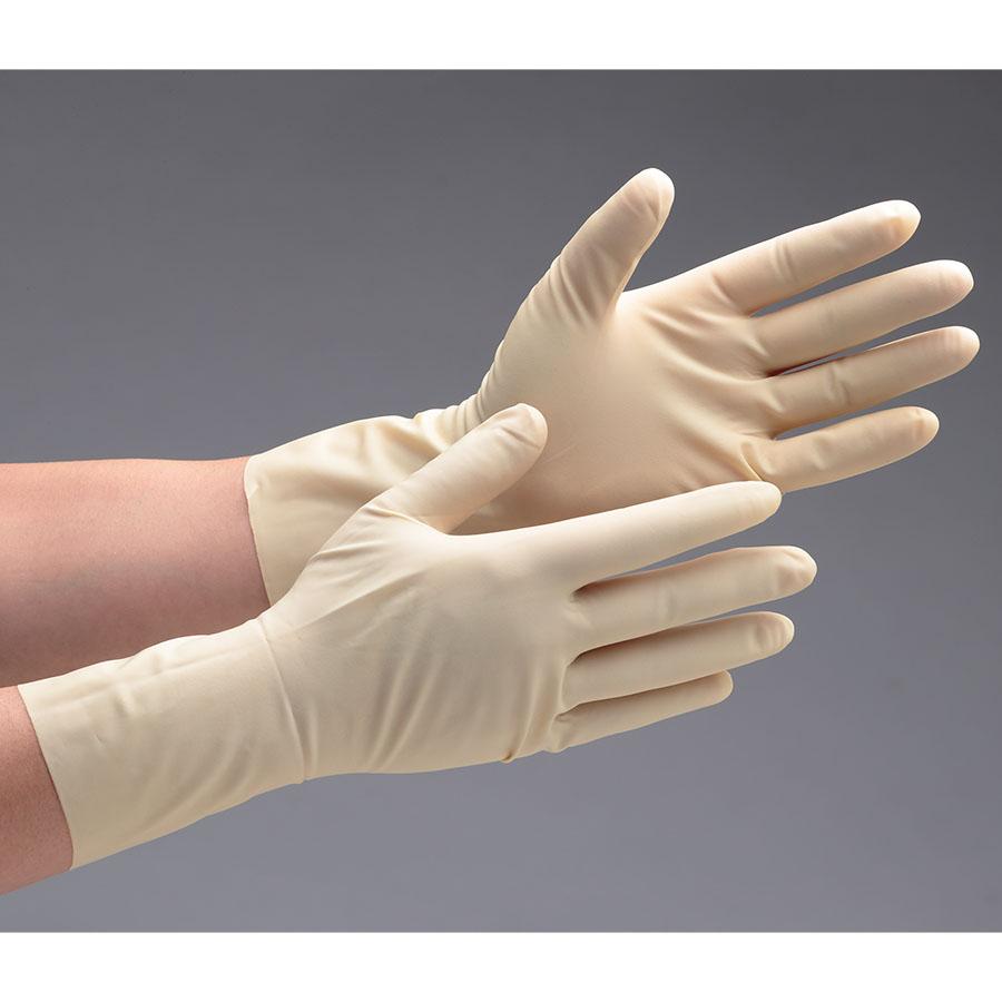 天然ゴム手袋 アキュテック 91−225 6.0インチ 50双/箱