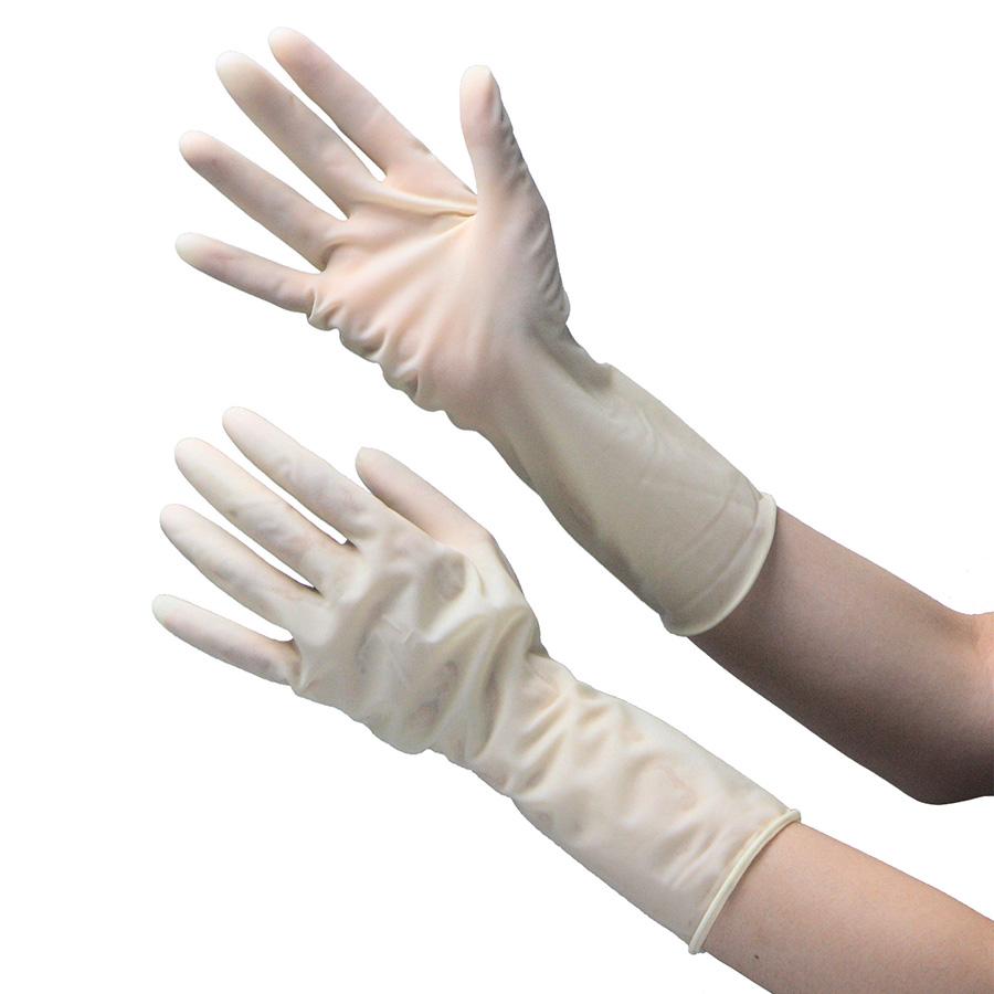 天然ゴム製手袋 クリーンルーム用 NO.916 8.5インチ 50双×4袋
